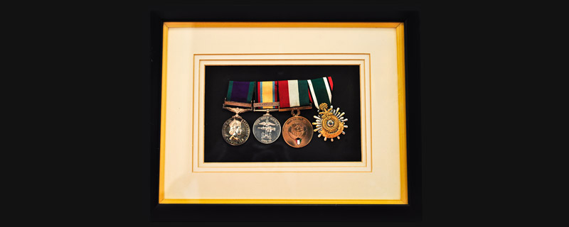 army engineer medals