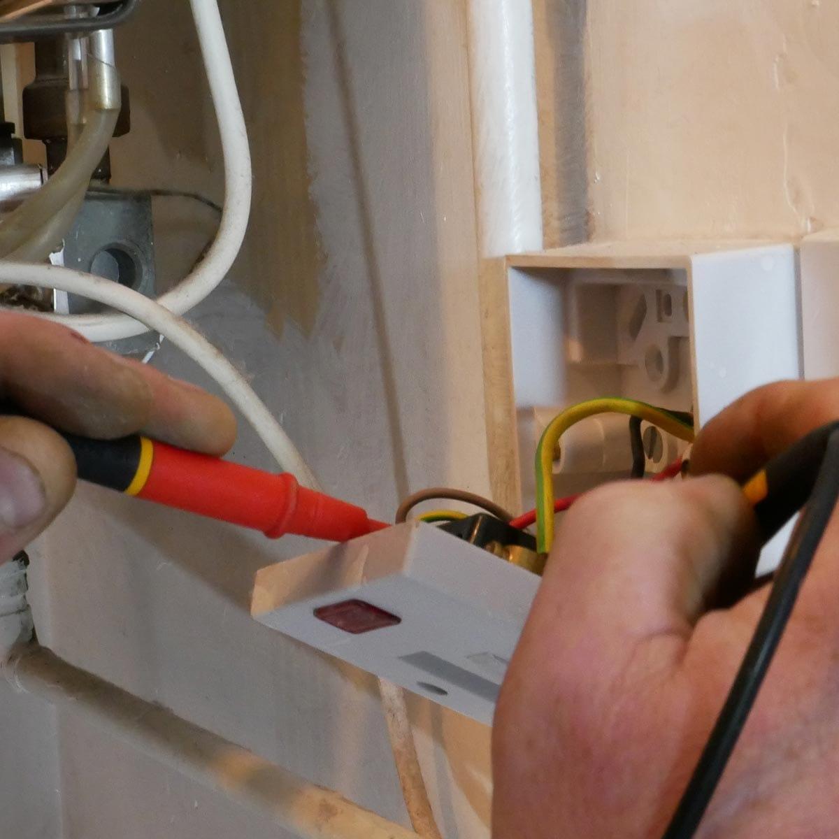 boiler electrical testing