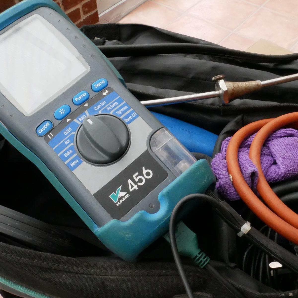 boiler emissions testing equipment