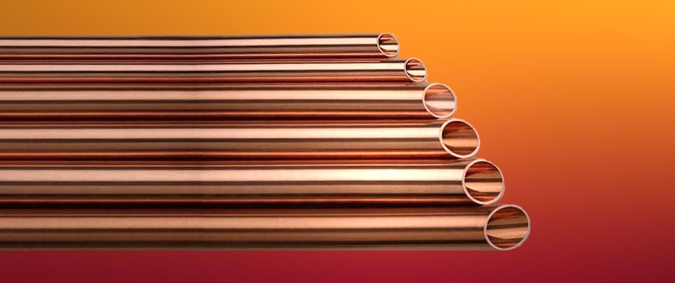 Copper pipe sizes