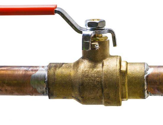 water shut off valve tap